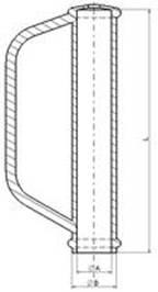 Zeichnung Sicherheitsbügelgriff